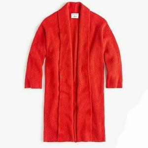 New✨ J. CREW DEMYLEE Long Cardi Sweater